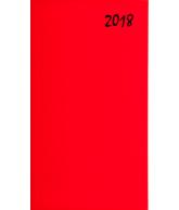 Agenda topper soft zakagenda 2018 rood (416)