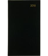 AGENDA TOPPER ZAKAGENDA 2018: ZWART (401)