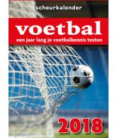 Scheurkalender 2018: Voetbal