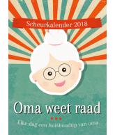 Scheurkalender 2018: Oma weet raad