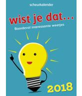 Scheurkalender 2018: Wist je dat?
