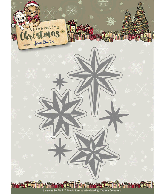 Snijmal twinkling stars celebrating christmas