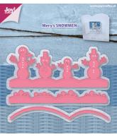 Joy snijmal Mery's sneeuwman 3st oktober