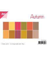 Joy papierset matching colors uni herfst oktober