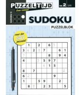 Puzzelblok sudoku 5 punt nr 2