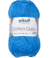 Cotton Quick Uni 126 medium blauw 50gr