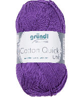 Cotton Quick Uni 130 VIOLET 50GR