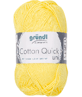 Cotton Quick Uni 131 GEEL 50GR