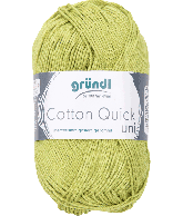Cotton Quick Uni 140 LICHT GROEN 50GR