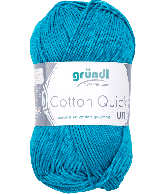 Cotton Quick Uni 143 PETROL BLAUW 50GR