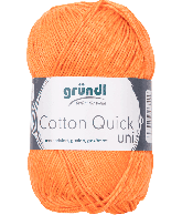 Cotton Quick Uni 146 ORANJE 50GR