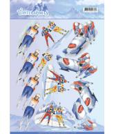 Knipvel biathlon snowfun wintersport