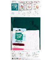 Stitch and Do 076 roze bloemen