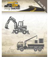 Amy Design daily transport snijmal construction vehicles