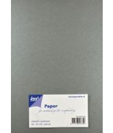 Joy Papierset Metallic zilver (a5 20vel)
