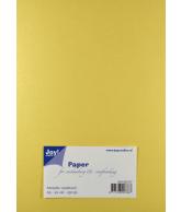 Joy Papierset Metallic creme (a5 20vel)