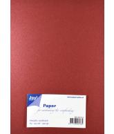 Joy Papierset Metallic rood (a5 20vel)