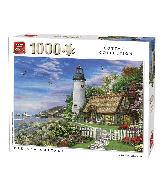 Puzzel Old Sea Cottage (1000 stukjes)