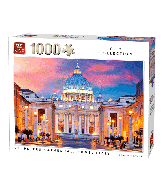Puzzel St. Peters Cathedral, Italy (1000 stukjes)