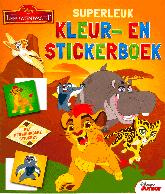 Disney De Leeuwenwacht Superleuk kleur- en stickerboek