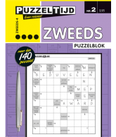Puzzelblok Zweeds 4 punt nr.2