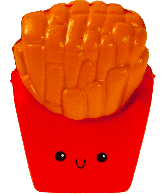 Squishy Frietjes (French Fries)