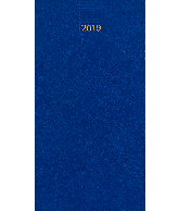 Zakagenda Minitimer staand 2019 lichtblauw nr 408