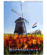 Wandkalender 2019 Holland