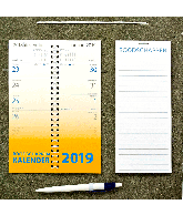 Omleg weekkalender boodschappen 2019 Neutraal