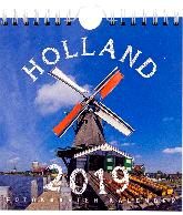 Postkaarten kalender 2019 Holland