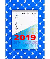 Weekblok kalender 2019 Schoppen
