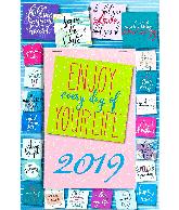 Weekblok kalender 2019 Post It