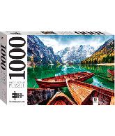 Puzzle braies lake, Italy 1000 pcs