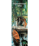 Kalender planner small 2019 Impressionisten