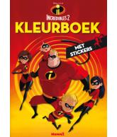 Incredibles 2 kleurboek