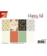 Joy papierset happy fall/mushroom autumn sept/18