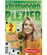 Puzzelplezier kruiswoord 2 ster nr.4