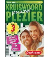 Puzzelplezier kruiswoord 3 ster nr.4