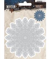WINTER TRAILS SNIJMAL 100X100MM NR 103 SNOWFLAKE