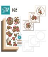 Stitch and Do 92 Christmas Owls