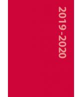 Schoolagenda 2019-2020 Rood