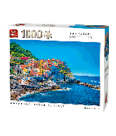 Puzzle Manarola, Italy (landscape Collection) 1000 pcs