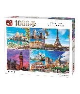 Puzzle City's (Collage Collection) 1000 pcs