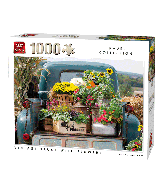Puzzle Vintage Truck with flowers (Travel coll) 1000 pcs