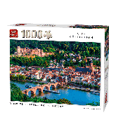 Puzzle View of Heidelberg, Germany