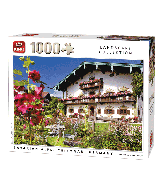 Puzzle Bavarian Alps, Germany 1000 pcs