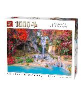 Puzzle tat kuang si waterfalls, Laos 1000 pcs