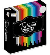 Textuur karton 80vel 15x15cm 20 kleuren
