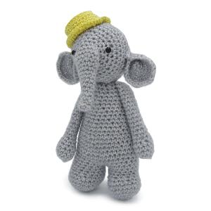 Haakpakket van de olifant Billy