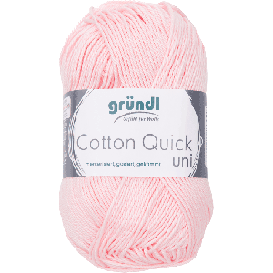 Cotton Quick Uni 133 Licht Roze 50gr